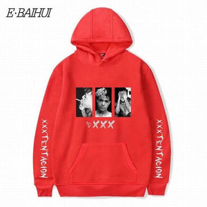 XXXTentacion Hoodies Sweatshirt Men Women Casual Pullover Streetwear Sudadera Hombre Hip Hopeosegal-eosegal