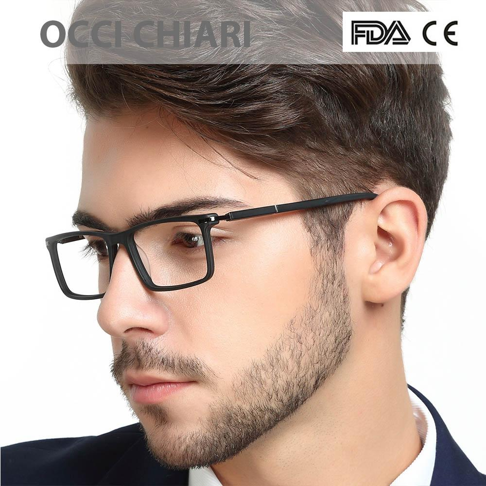 Optical Eyeglasses Eyewear Gafas Rectangle Men Black Prescription Glasses Frames Retroeosegal-eosegal