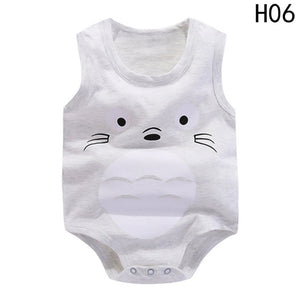 Baby Girl Rompers Summer Boy Clothing Sets Cute Animal Newborn Baby Clothes Baby Jumpsuits Infant Girls Clothing-eosegal