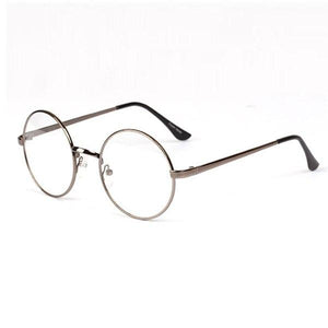 Fashion Retro Round Metal Frame Clear Lens Glasses Nerd Spectacles Eyeglass Unisexeosegal-eosegal