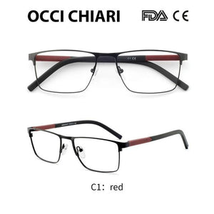 Men Glasses Frame Optical Eyeglasses Frames Clear Lens Male Spectacles Oculoseosegal-eosegal