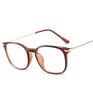 Brand TR90 Anti Blue Ray Eyeglasses Oversized Optical Myopia Eyewear Titanium Frameeosegal-eosegal