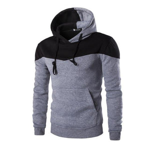 Winter Hoodies Men Sudaderas Hombre Hip Hop Mens Hoodie Decorative Pocket Patchworkeosegal-eosegal