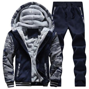 Winter Inner Fleece Hoodies Men 2018 Casual Hooded Warm Sweatshirts Male Thickeneosegal-eosegal