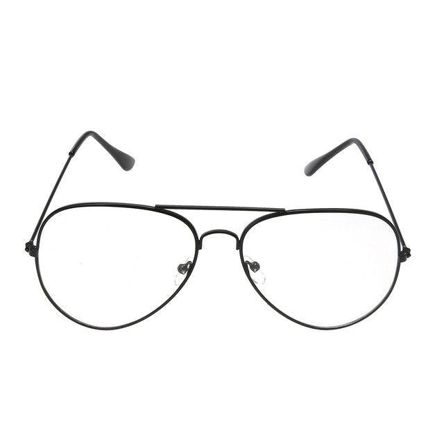 Clear Glasses Alloy Metal Frame Optics Eyeglasses for Women Men oculos deeosegal-eosegal