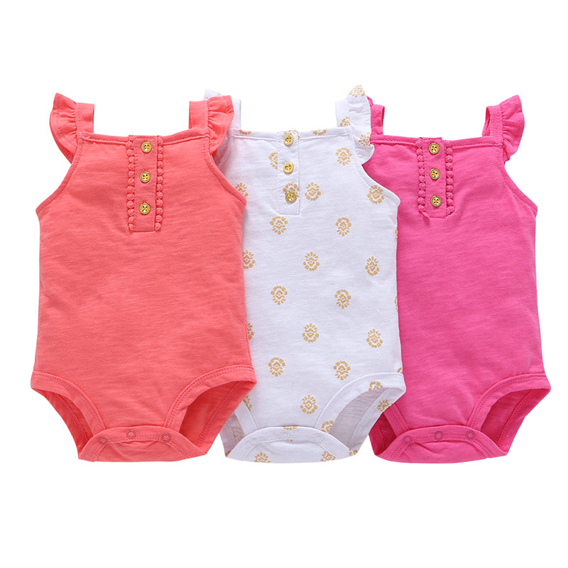3pcs of set .kids bebes baby boy girl clothes set kids bebes bodysuit summer clothing set 2018 new model-eosegal