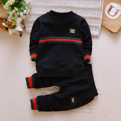 Hot Sell Cotton Brand 2PCS Baby Boys Clothing Set Children Clothing Tracksuit t shirt+pants Kids Boy Clothes Spring Fall Sets-eosegal
