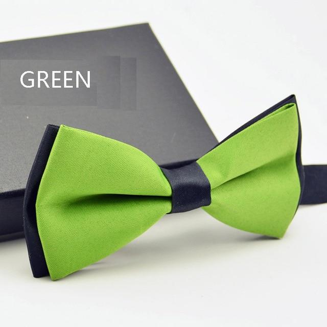 Fashion Bow tie for Men Tuxedo Bowtie Classic Solid Color Weddingeosegal-eosegal