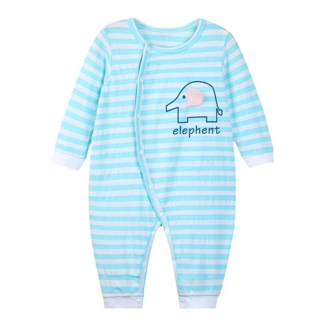 Autumn Baby Rompers Christmas Baby Boy Clothes Newborn Clothing Cotton Baby Girl Clothes Roupas Infant Jumpsuits-eosegal