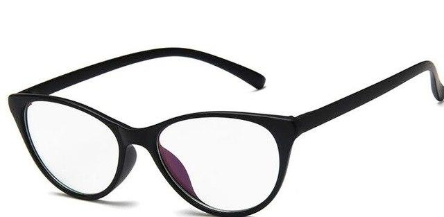 Fashion Women Cat Eye Glasses Frames Cat's Eye Clear Eyeglasses Ladies Spectacleseosegal-eosegal