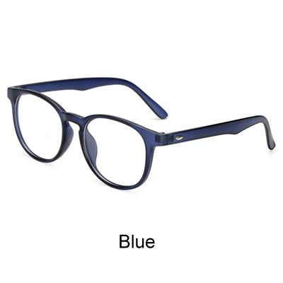 Unisex Vintage Round Eye Glasses With Clear Lens, Women Men Plaineosegal-eosegal