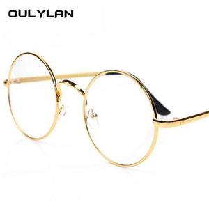 Vintage Round Glasses Frame for Harry Potter Spectacle Frames Women Meneosegal-eosegal