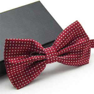 2018 New Hot Men's Fashion Tuxedo Classic Dots Bowtie Bow Tie Adjustableeosegal-eosegal