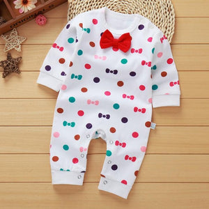 spring - Autumn cotton baby clothing Long Sleeved baby boy clothes cartoon printing baby girls clothes baby romper Infantil beb-eosegal