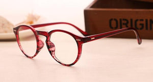 2018 Vintage Retro Round Eyeglasses Brand Designer For Women Glasses Fashion Meneosegal-eosegal