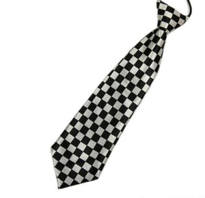 1Pcs 3D Stripe Plaid Print Men Neck Ties Fashion School Boys Childreneosegal-eosegal