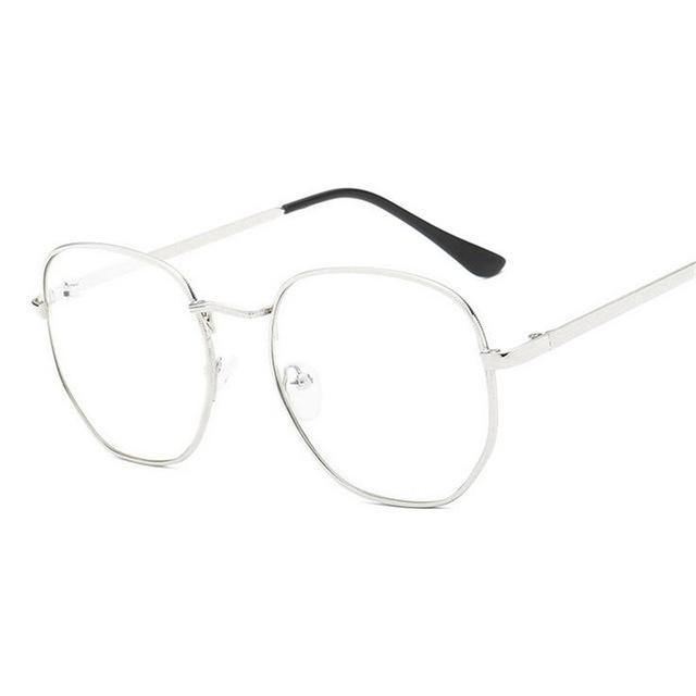 1.56 Aspheric Oval Finished Myopia Glasses With Degree Fashion Student Myopia Eyeweareosegal-eosegal