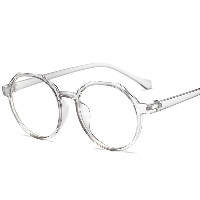 Fashion Glasses High Quality TR Frame Women Eyeglasses frame Vintage Round Cleareosegal-eosegal
