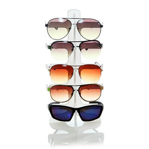 Sunglasses Plastic Frame Display Stand 5 Layers 3 Colors Glasses Eyeglasses Colorfuleosegal-eosegal