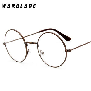 Round Clear Glasses Spectacles Retro Optical Eye Glasses Frames For Women Transparenteosegal-eosegal