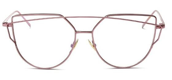 High quality vintage Cat Eye glasses clear lens men women fashioneosegal-eosegal