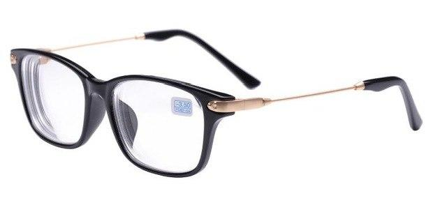 Quality Finished Nearsight Myopia glasses Metal +PC Eyeglasses Frames Degree Lens Diopterseosegal-eosegal