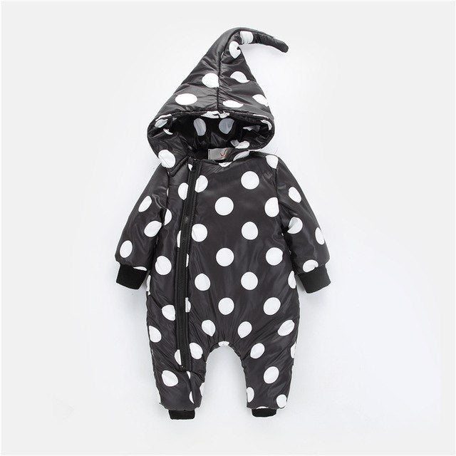 Mountainskin 2018 Winter Autumn Spring Baby Boys Girls Rompers Kids Overalls Children Suit Thick Warm Hooded Outwear 6-24M SC890-eosegal