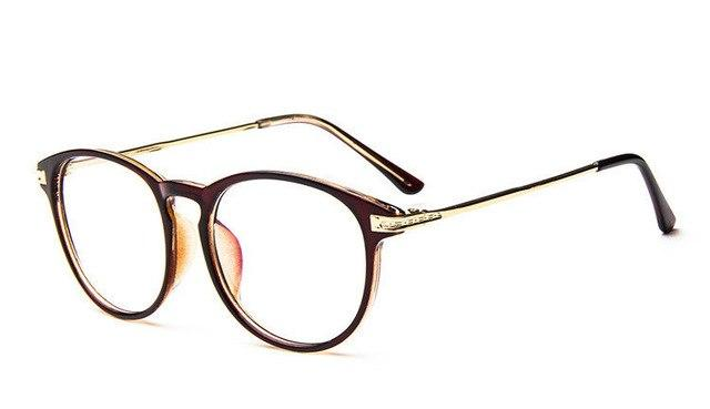 vintage glasses women round optical glasses frames eyewear mirror transparent glasseseosegal-eosegal