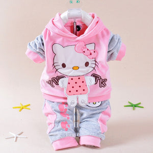 Baby Boy Clothes Spring Baby Girl Clothing Set Cartoon Baby Rompers Long Sleeve Newborn Baby Clothes Roupas Bebe Infant Jumpsuit-eosegal