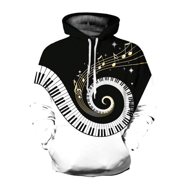 Ehuanhood Newest Men Women 3D Hoodie Atlanta Letter Pullover Sweatshirt eosegal-eosegal
