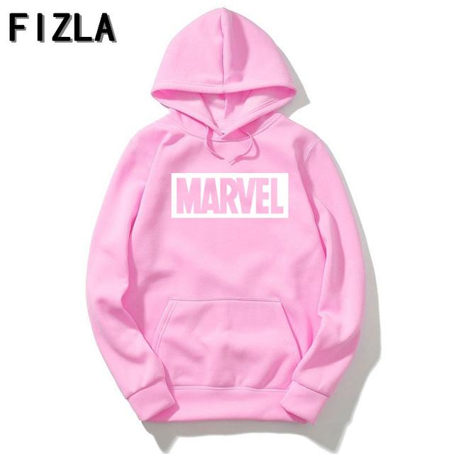 New Brand Marvel Hoodies men high quality Long sleeves Casual meneosegal-eosegal