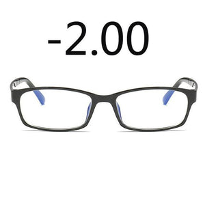 Anti-Blu-ray Prescription Nearsighted Glasses Women Men Cheap Desginer Anti-fatigue Finished Myopia Glasseseosegal-eosegal