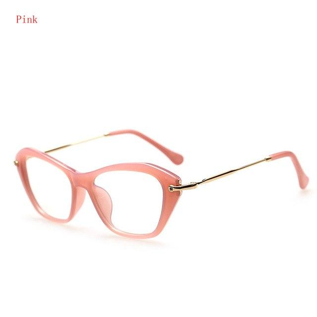 2017 Women Retro Sexy Eyeglasses Frame Fashion Cat Eye Clear Lens ladieseosegal-eosegal