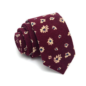 High Quality Fashion 145*8cm Mens Neck Tie Floral Wedding Business Ties Maleeosegal-eosegal