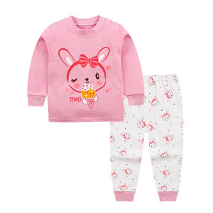 kids Cartoon baby boys clothes Long sleeve newborn baby clothing Autumn winter cotton boys Top +pant 2pcs baby boy clothes Set-eosegal