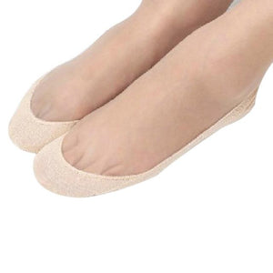 #2533 Cotton Lace Antiskid Invisible Liner No Show Peds Low Cut Socks WZ001 D45-eosegal