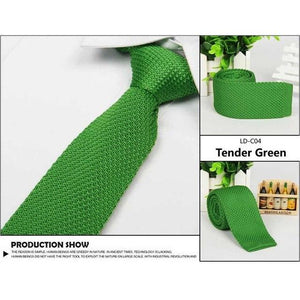 Fashion Mens Solid Casual Tie Knit Knitted Tie Necktie Narrow Slim Skinnyeosegal-eosegal
