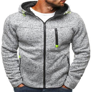 Winter Hoodie Male Cardigan 2018 New Long sleeve hoodies men Zipper Sweatshirteosegal-eosegal