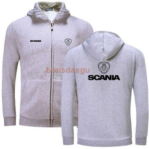 SCANIA truck logo print Brand Clothing Fashion Hoodies women and men's Casualeosegal-eosegal