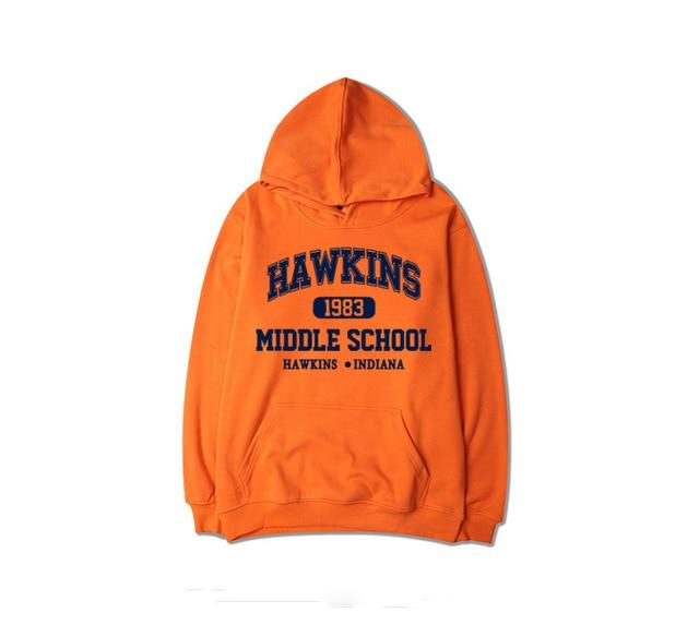 Stranger Things Sweatshirt New TV Show Men Cotton Clothes Stranger Things Hoodieeosegal-eosegal