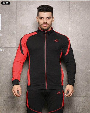 2018 High Quality Men Zipper Hoodies Long Sleeve Bodybuilding Thin Hoodies Sweatshirtseosegal-eosegal