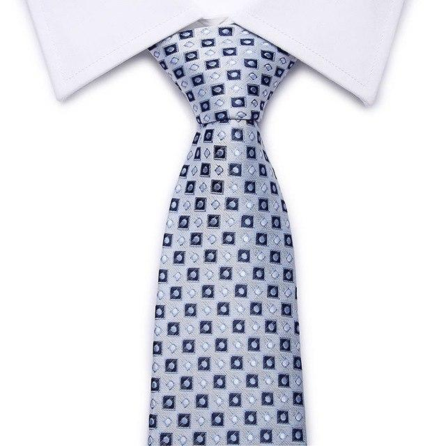 Factory 8CM Classic Men's Skinny Ties Polyester Silk Solid Polka Dot Narroweosegal-eosegal