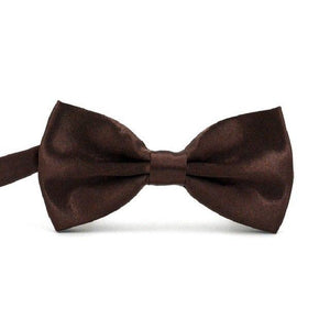 HOOYI New Fashion Bow Ties for Men Business Boys Shirt Bowtie Solideosegal-eosegal