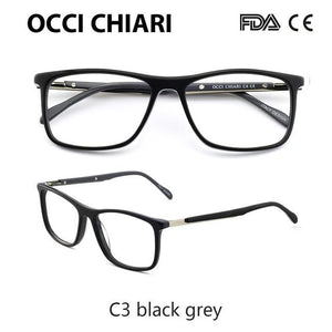 High Quality Acetate Retro Prescription Medical Optical Eye Frames Men Hand Madeeosegal-eosegal