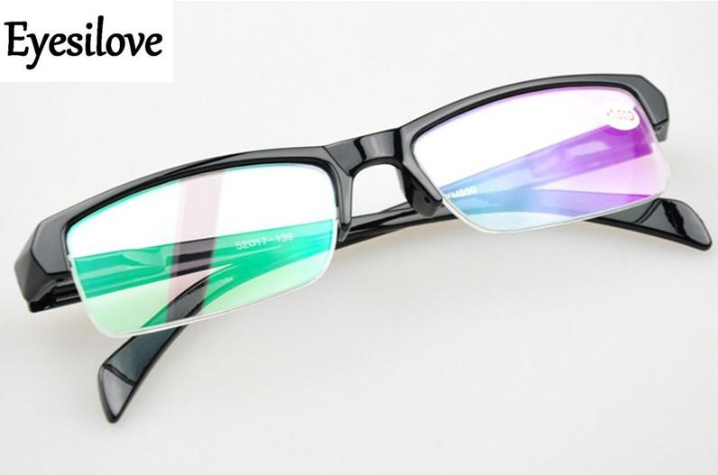 cheap Finished myopia glasses half-rim Nearsighted Glasses short sight eyeglasses -1.0,-1.5,-2.0,-2.5,-3.0,-3.5,eosegal-eosegal
