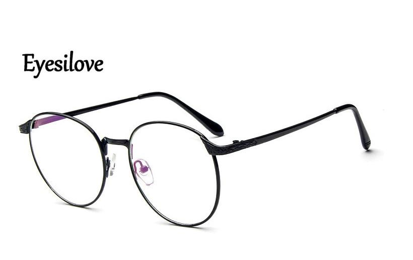 metal Finished myopia glasses Nearsighted Glasses prescription glasses for men womeneosegal-eosegal