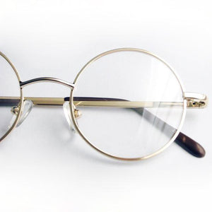 42mm Size Retro Vintage Eyeglass Frame Glasses Harry Potter Style Roundeosegal-eosegal
