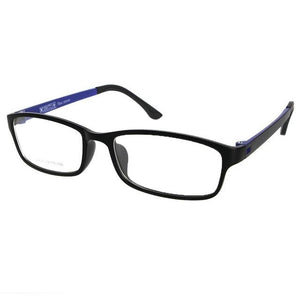 1PC Spectacles Glasses TR90 Ultralight Black Eyeglasses Man Woman Full Frame Rimeosegal-eosegal