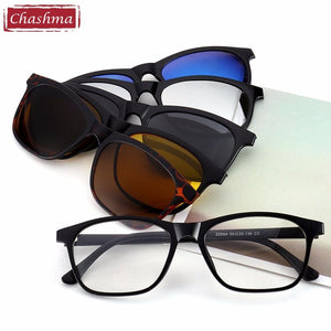 Brand Clip Sun Glasses Optical Glasses Frame with Clip Polarized Sunglasseseosegal-eosegal