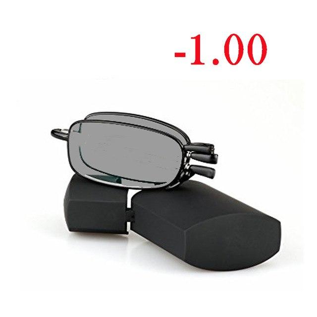 Folding Sun Photochromic Finished Men Women Myopia Eyeglasses Frame Sun glasseseosegal-eosegal